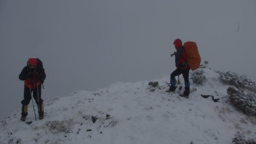 Pe Bistriciorul (1 990m)