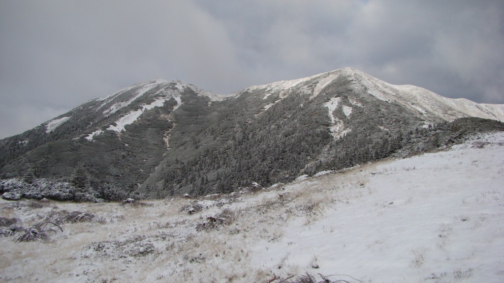 Vf.Bistriciorul (1 990m) si Piciorul Bistriciorului