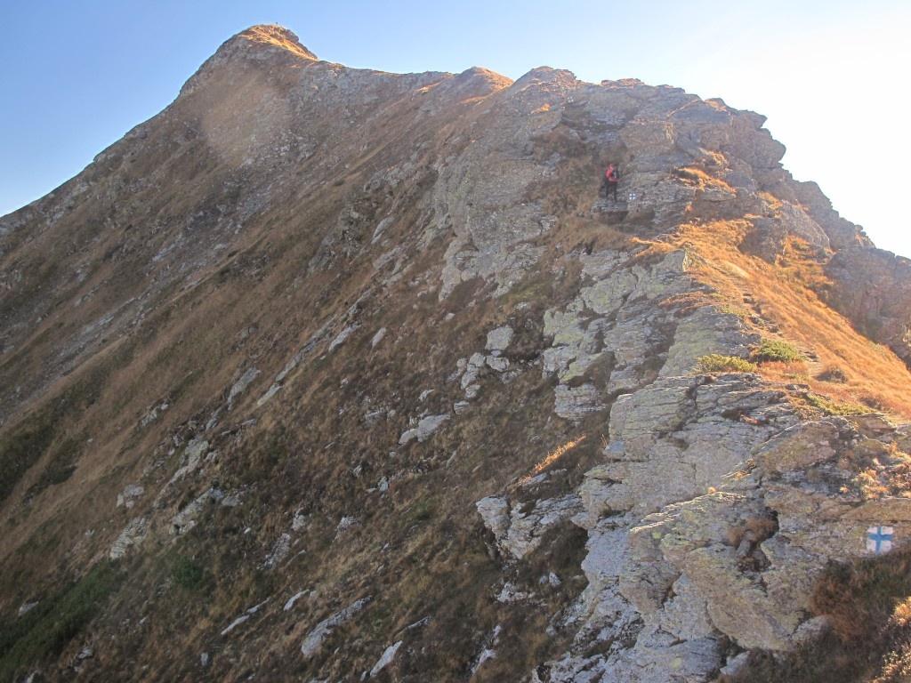 Cetatea de piatra a vf Rosu (2 113m)